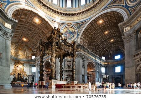 ángeles · ángel · Roma · Italia · azul · viaje - foto stock © ca2hill