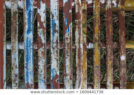 velho · brinquedo · de · madeira · trem · isolado · branco · crianças - foto stock © lightsource