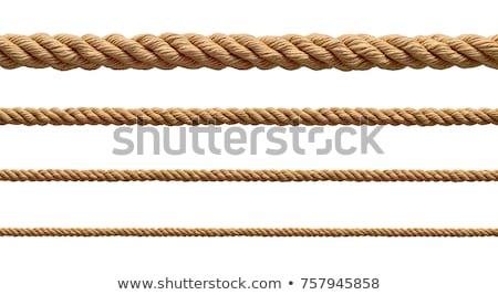 ロープ · 孤立した · 白 · 背景 · ヘルプ - ストックフォト © pterwort