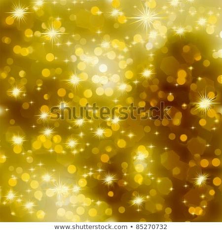 goud · christmas · sneeuwvlokken · eps · vector · bestand - stockfoto © beholdereye
