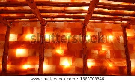 só · hegyek · kék · ég · üzlet · égbolt · ipar - stock fotó © grafvision