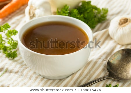 Beef broth Stock photo © MKucova