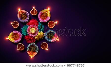 Diwali uroczystości kolorowy szczęśliwy streszczenie star Zdjęcia stock © bharat