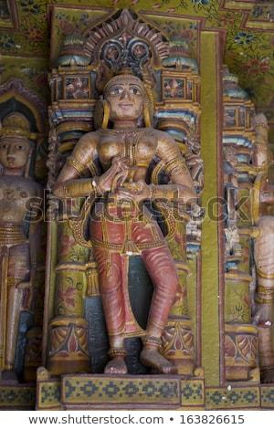 Statue in Bhandasar Jain Temple in Bikaner stock photo © faabi