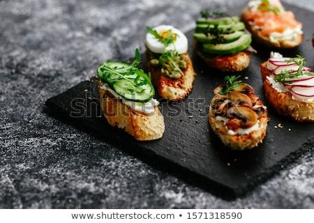 Végétarien élégante Photo stock © goodie76