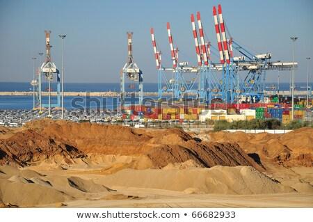 Ashdod seaport view. Stock photo © rglinsky77