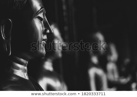 Meditation - statue of buddha Stock photo © franky242