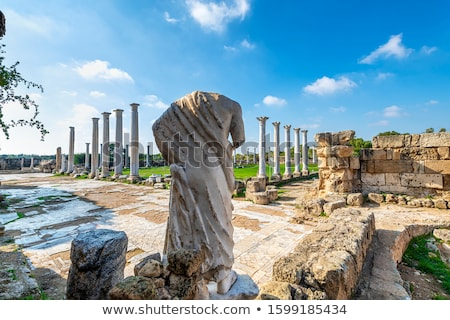 Ancient Salamis Ruins. Famagusta, Cyprus Stock photo © Kirill_M
