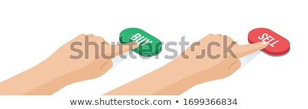 Tijd is geld Rood toetsenbord knop zwarte Stockfoto © tashatuvango