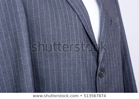 Stok fotoğraf: Işadamı · gri · takım · elbise · yalıtılmış · mavi