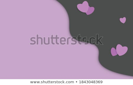 Seamless background with abstract hearth symbol  Stock photo © eltoro69