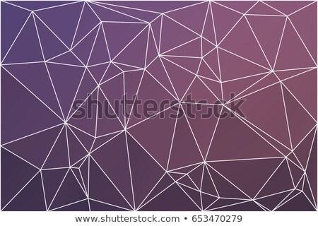 Stock fotó: Kék · rózsaszín · alacsony · stílus · illusztráció · grafikus