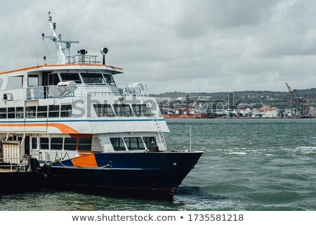 Lisbon Almada ferry boat Stock photo © joyr