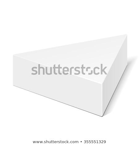 papír · doboz · csomagolás · felfelé · sablon · izolált - stock fotó © netkov1