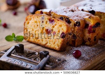 Kürbis Brot gesunden Herbst Kuchen Stock foto © rojoimages