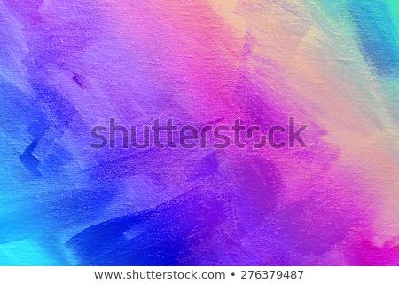 краской · палитра · белый · бумаги · деревянный · стол · образование - Сток-фото © imaster