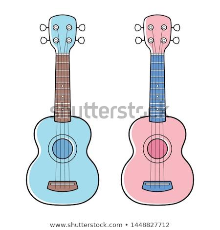 Blue guitar-toy Stock photo © smuki