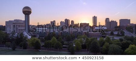 Świt budynków centrum Tennessee jednostka Zdjęcia stock © cboswell
