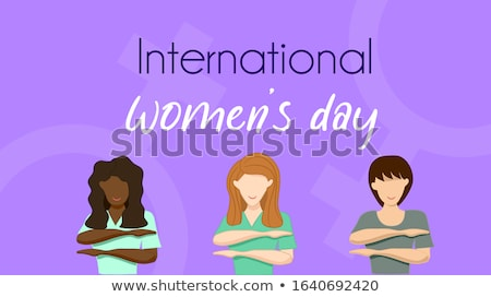 female symbol and text womens equality Stock photo © nito