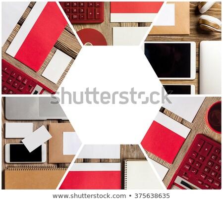 responsivo · projeto · computador · escritório - foto stock © master1305
