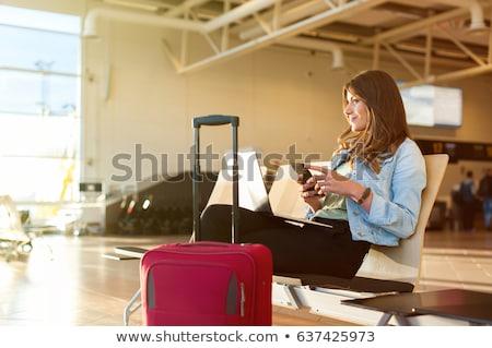 waiting   airport stock photo © francesco83