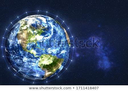 Globalização internacional comunicação criação promoção site Foto stock © grechka333