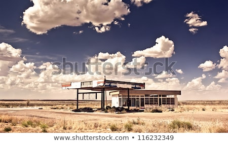 Сток-фото: топлива · станция · заброшенный · пейзаж · промышленности · нефть