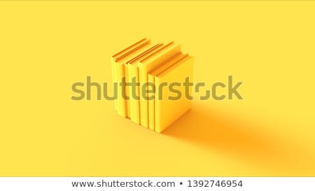 Yellow book stock photo © coprid