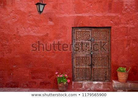 falegname · porta · isolato · bianco · jpg · formato - foto d'archivio © bluering