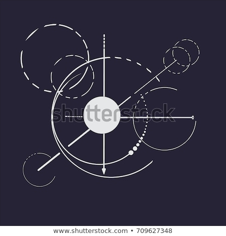 drawing compass directions dark stock photo © romvo