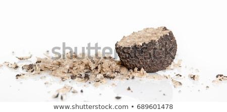 delicate exclusive black truffles stock photo © klinker