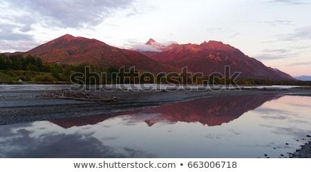 Lazy Mountain Matanuska-Susitna Borough Alaska United States Sun Stock photo © cboswell