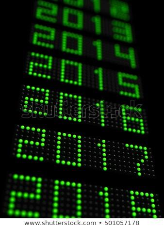 прошлое Новый год 3d иллюстрации аннотация дизайна Сток-фото © Oakozhan