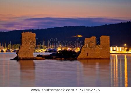 Starych zrujnować morza wygaśnięcia widoku region Zdjęcia stock © xbrchx