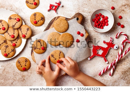 cooking gingerbread cookie Stock photo © M-studio