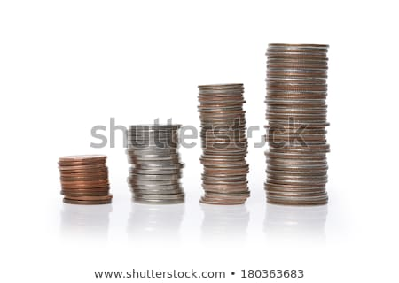 Stack of quarters Stock photo © IS2