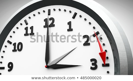 Stockfoto: Daglicht · besparing · tijd · klok · schakelaar · zomer