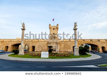Old walls of  Cadiz Stock photo © benkrut
