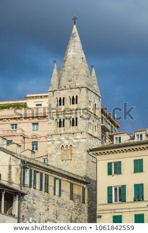 Basilica di Santa Maria delle Vigne in Genoa Stock photo © boggy