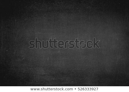 Schoolbord textuur zwarte lege oppervlak exemplaar ruimte Stockfoto © FoxysGraphic