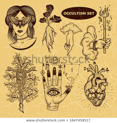 Alchemical Symbols Stock photo © naffarts