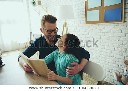 studia · domu · kobieta · szkoły · student - zdjęcia stock © deandrobot