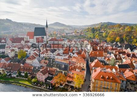 Center of Cesky Krumlov, Czech Republic Stock photo © jamdesign