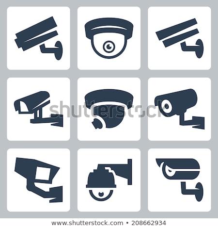 вектора · камеры · безопасности · изолированный · белый - Сток-фото © netkov1