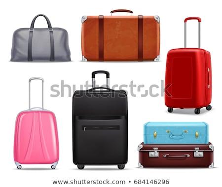 Bagażu podróży wakacje zestaw wektora Zdjęcia stock © robuart