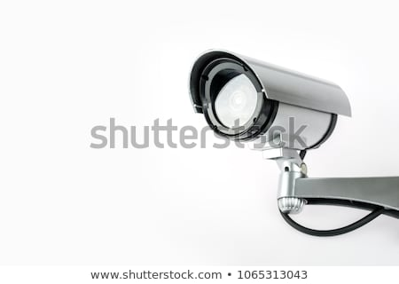 CCTV cameras mounted on the wall Stock photo © magraphics