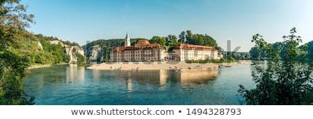 Ver abadia Alemanha mosteiro danúbio floresta Foto stock © borisb17