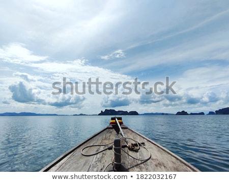 Ver cabeça tradicional barco mar Foto stock © vapi