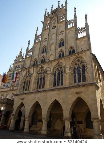 Historical City Hall of Munster, Germany Stock photo © borisb17