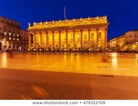 Bordeaux National Opera, France Stock photo © borisb17